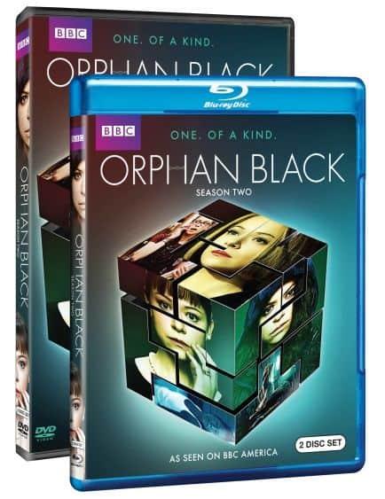 Orphan Black Season 2 Bluray DVD