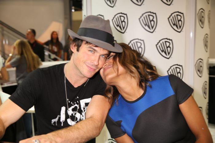 The Vampire Diaries Cast Comic Con 10