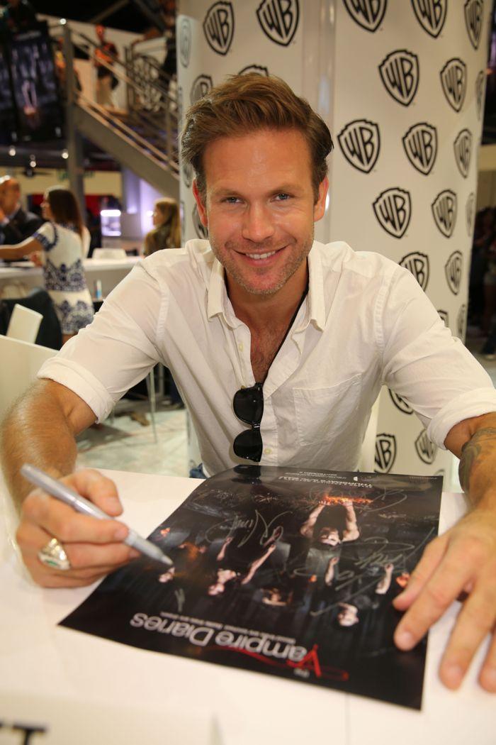 The Vampire Diaries Cast Comic Con 05