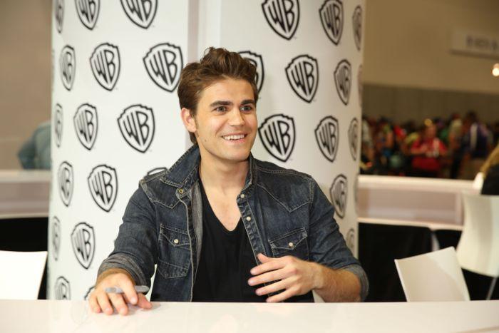 The Vampire Diaries Cast Comic Con 13