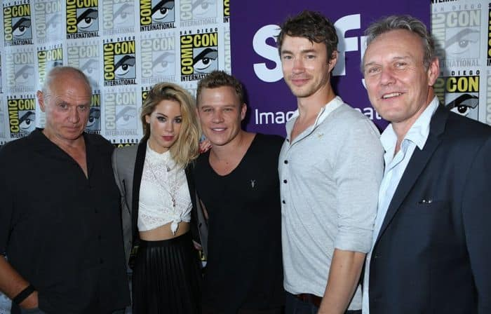 Alan Dale, Roxanne McKee, Chris Egan, Tom Wisdom, and Anthony Stewart Head Dominion Comic Con 2014