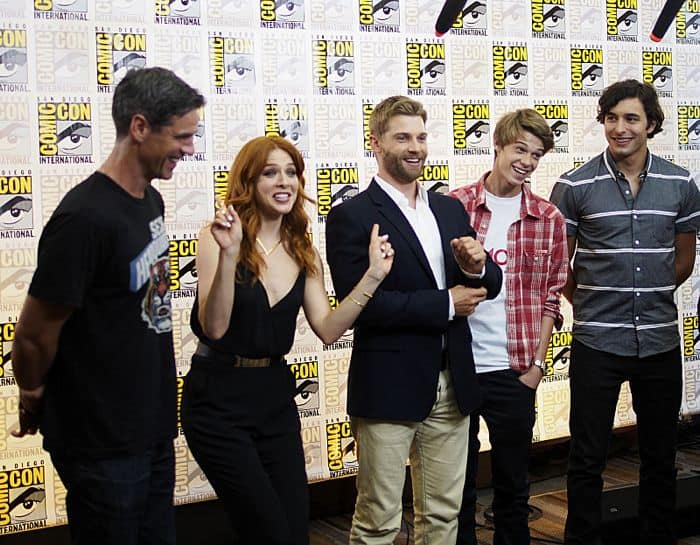 Eddie Cahill, Rachelle Lefevre, Mike Vogel, Colin Ford, Alexander Koch | Under The Dome | Comic Con