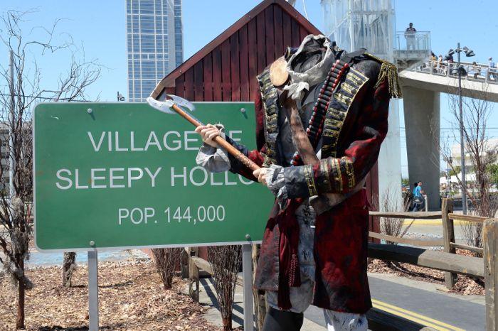 Sleepy Hollow Comic Con Virtual Reality 3