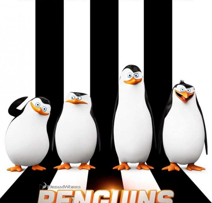 Penguins Of Madagascar Movie Poster