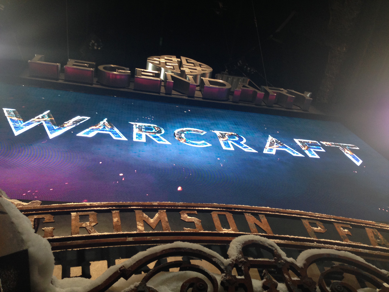 Warcraft Logo Comic Con SDCC