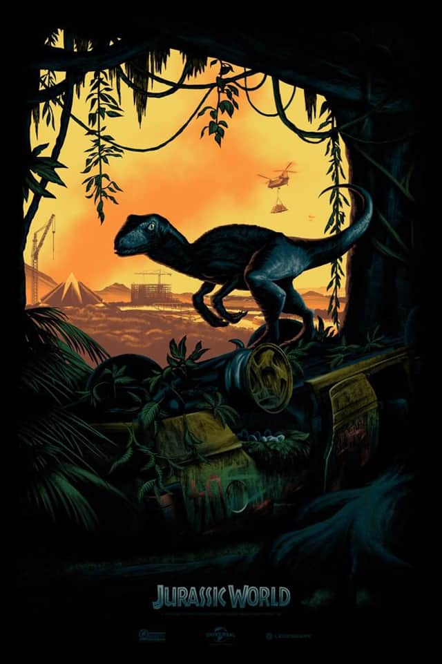 JURASSIC WORLD Exclusive Comic Con Poster