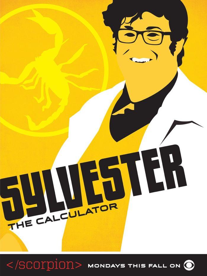 Scorpion Comic Con Poster Sylvester