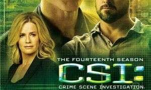 CSI Season 14 DVD Cover
