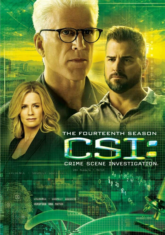 CSI Season 14 DVD Cover