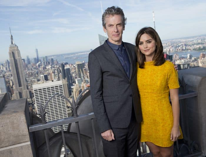 Doctor Who Peter Capaldi and Jenna Coleman