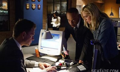 Michael Weatherly, Rocky Carroll and Emily Wickersham NCIS Twenty Klicks