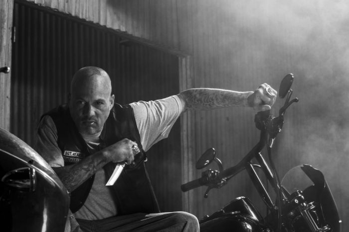 SONS OF ANARCHY David Labrava as Happy