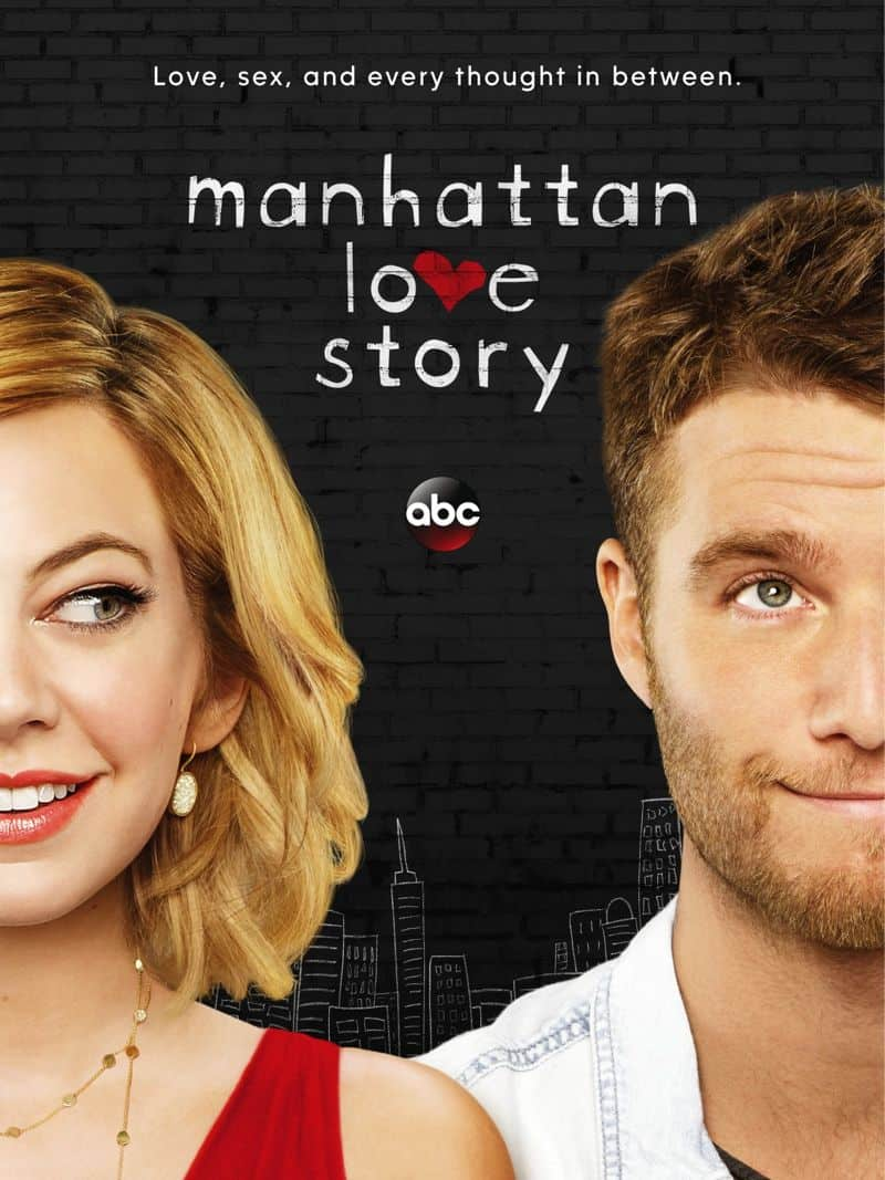 Manhattan Love Story Poster ABC Analeigh Tipton Jake McDorman