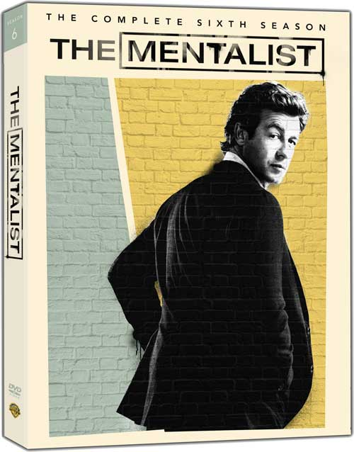 The Mentalist Season 6 DVD Cover