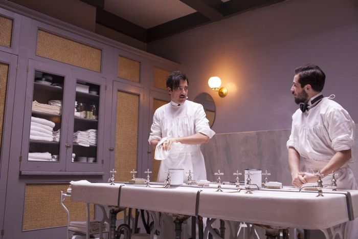 Clive Owen, Michael Angarano The Knick