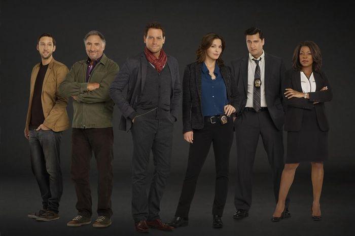 JOEL DAVID MOORE, JUDD HIRSCH, IOAN GRUFFUDD, ALANA DE LA GARZA, DONNIE KESHAWARZ, LORRAINE TOUISSANT Forever TV Show ABC