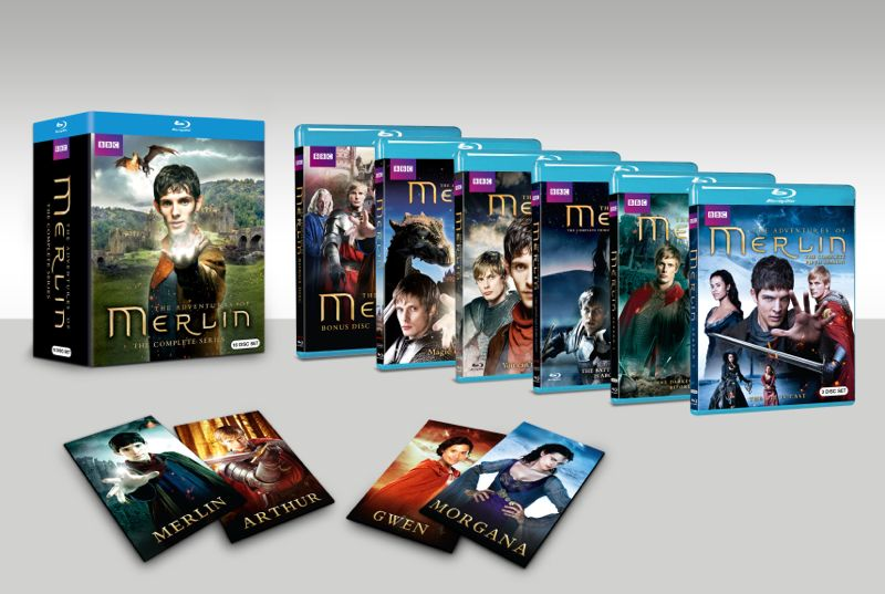 MERLIN BOXSET Bluray