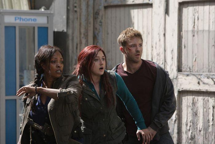 Kellita Smith as Warren, Anastasia Baranova as Addy, Michael Welch as Mack ZNation