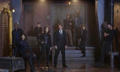 B.J. BRITT, CHLOE BENNETT, IAIN DE CAESTECKER, MING-NA WEN, CLARK GREGG, NICK BLOOD, HENRY SIMMONS, ELIZABETH HENSTRIDGE, BRETT DALTON Agents of SHIELD Cast Photo Season 2