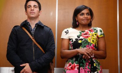 THE MINDY PROJCET: Mindy (Mindy Kaling, R) convinces Danny (Chris Messina, L) that her tax troubles are easily fixed