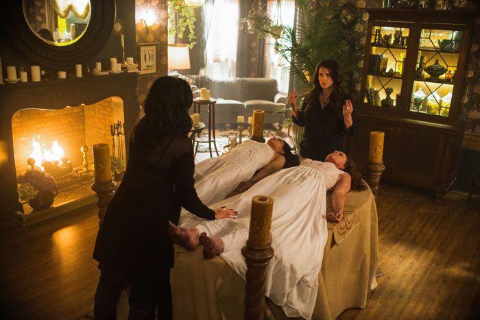 Witches of East End : Madchen Amick, Jenna Dewan Tatum, Julia Ormond and Rachel Boston