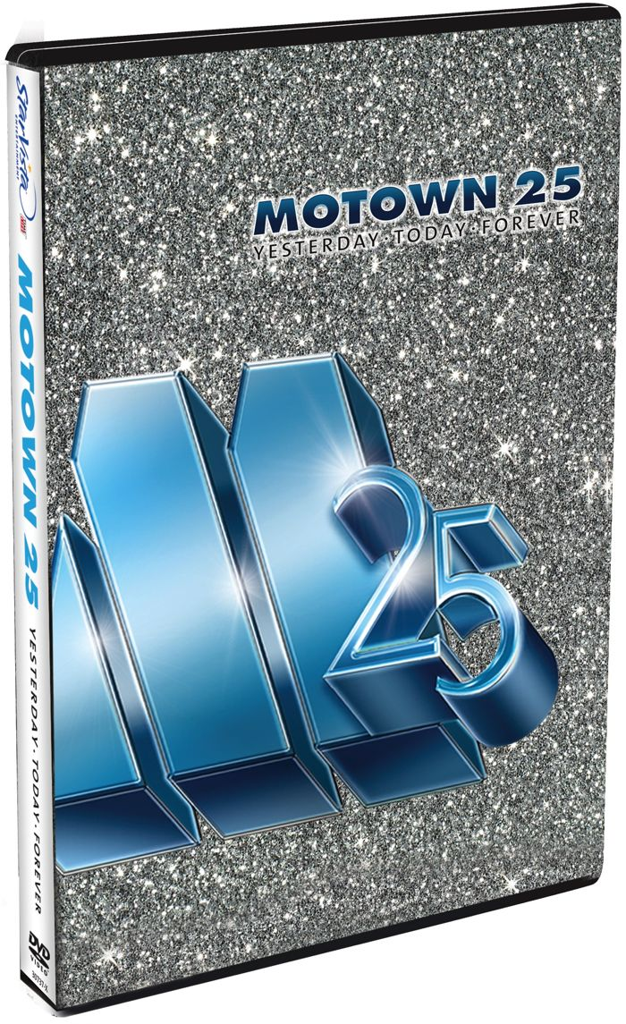 Motown 25 Yesterday Today Forever DVD