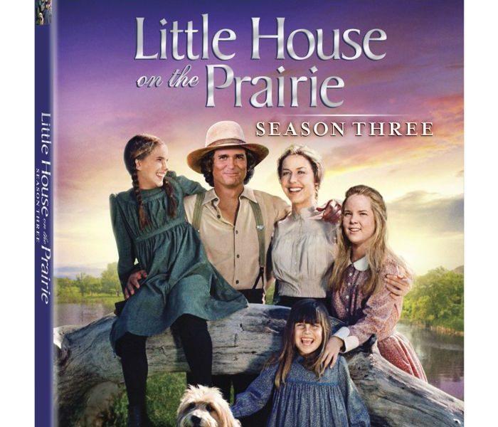 LITTLE HOUSE ON THE PRAIRIE Season 3 Bluray