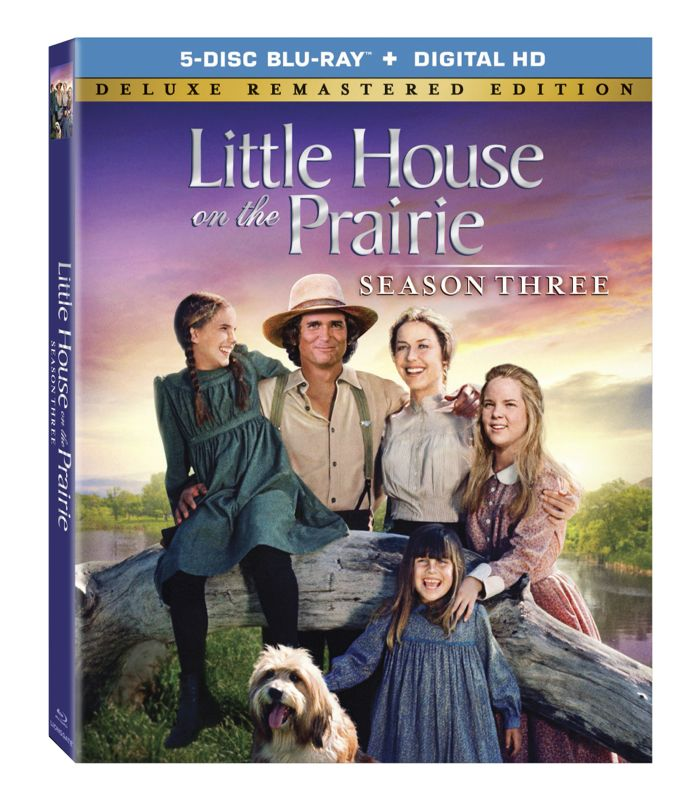 LITTLE HOUSE ON THE PRAIRIE Season 3 Bluray