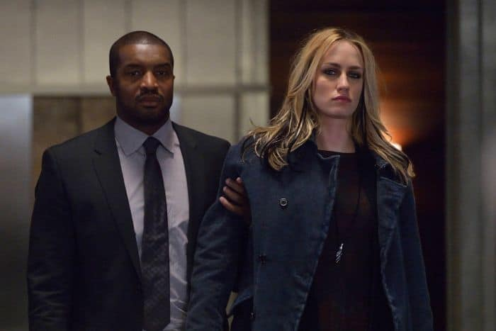 Roger Cross as Mr. Fitzwilliams, Ruta Gedmintas as Dutch Velders The Strain