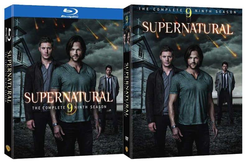Supernatural Season 9 DVD Bluray