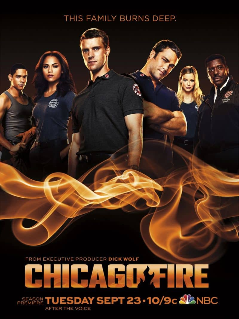 CHICAGO FIRE Season 3 Poster