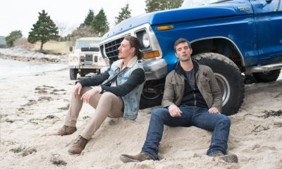 Eric Balfour as Duke Crocker, Lucas Bryant as Nathan Wuornos Haven Syfy 5x02