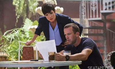 "NCIS New Orleans Zoe McLellan as Special Agent Meredith ""Merri"" Brody and Lucas Black as Special Agent Christopher LaSalle"