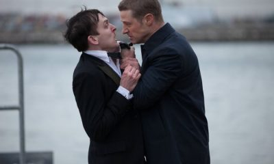 Robin Lord Taylor and Ben McKenzie Gotham