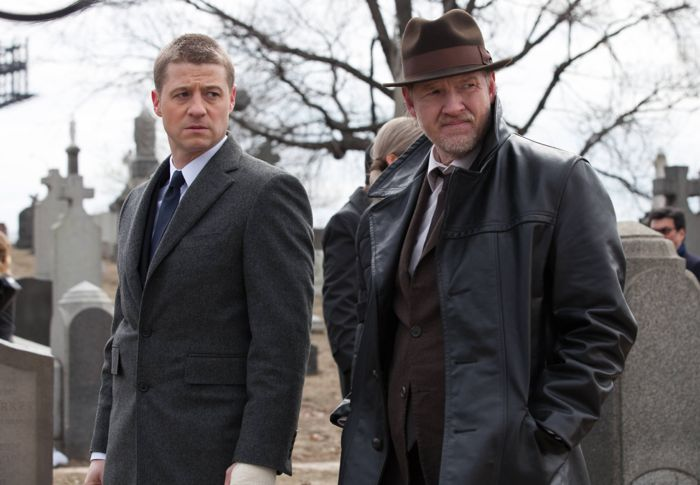 Ben McKenzie and Donal Logue Gotham