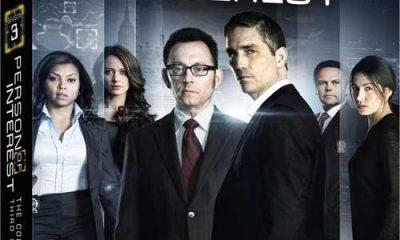 Person Of Interest Season 3 Bluray DVD