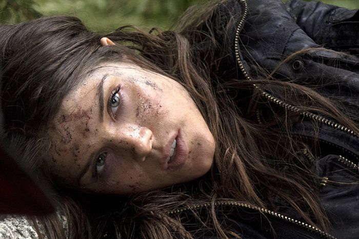 Marie Avgeropoulos as Octavia The 100