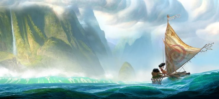 MOANA Walt Disney Animation Studios Concept Art