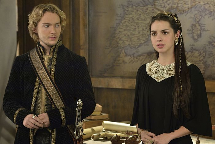 Reign Blood For Blood Toby Regbo as King Francis II and Adelaide Kane as Mary, Queen of Scotland and France