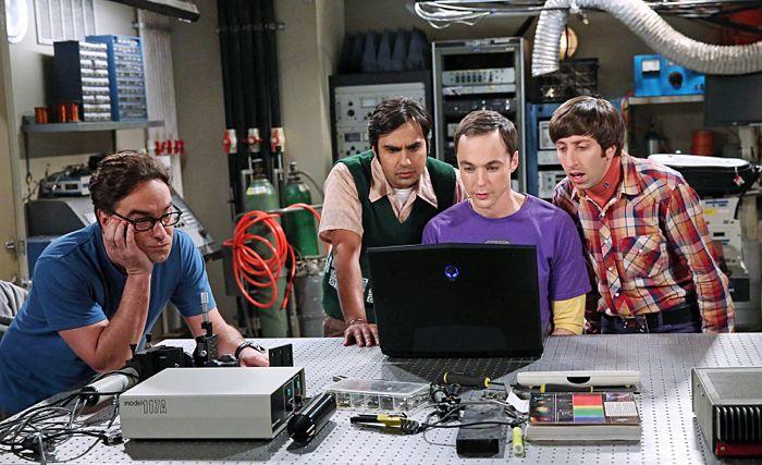 The Big Bang Theory The Focus Attenuation Johnny Galecki, Kunal Nayyar, Jim Parsons and Simon Helberg
