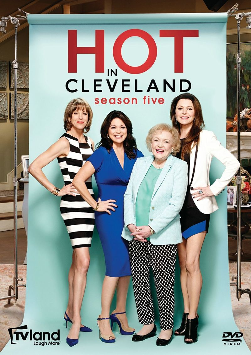 HOT IN CLEVELAND Season 5 DVD