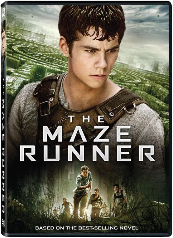 The Maze Runner DVD Box Cover Case