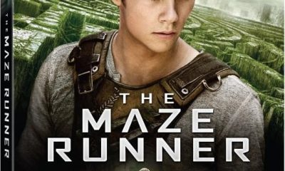 The Maze Runner Bluray Box Cover Case