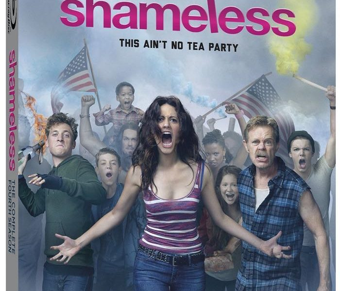SHAMELESS Season 4 Bluray DVD Box Cover Artwork