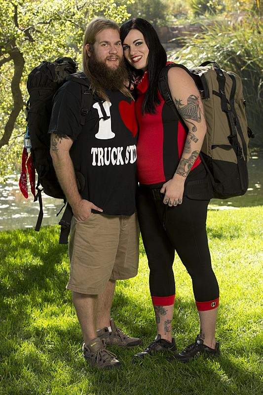 Mike Dombrowski & Rochelle Nevedal of THE AMAZING RACE