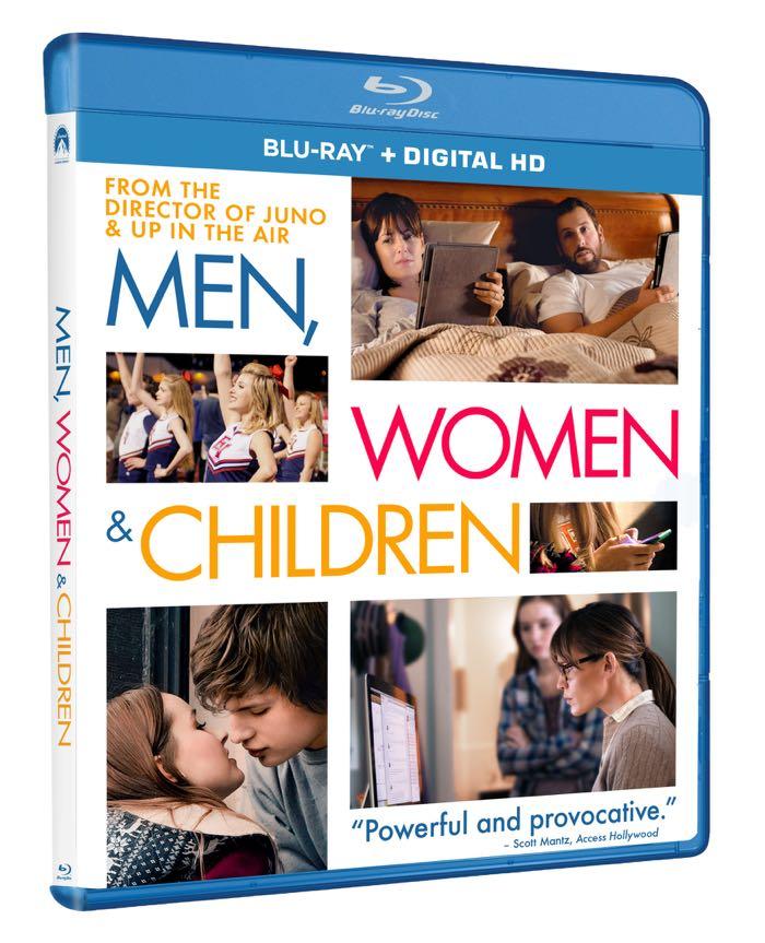 MEN WOMEN And CHILDREN Bluray Cover Artwork