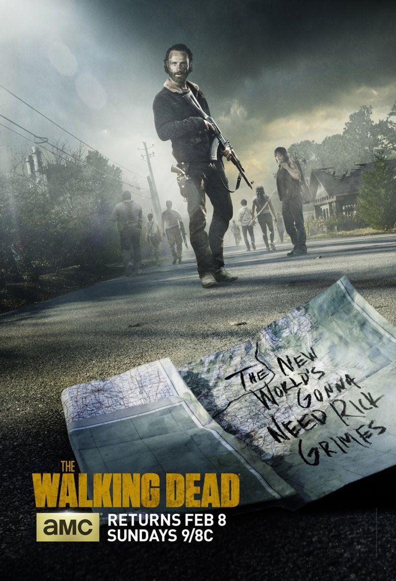 New THE WALKING DEAD Season 5 Poster