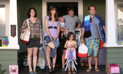 Togetherness HBO Melanie Lynskey, Amanda Peet, Mark Duplass, Abby Ryder Fortson, Steve Zissis. photo: Jaimie Trueblood