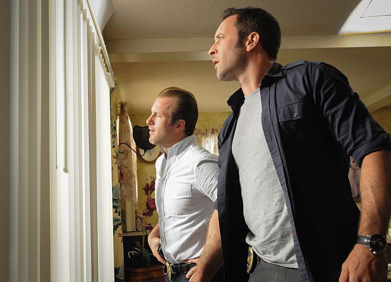 "Scott Caan as Danny ""Danno"" Williams and Alex O'Loughlin as Steve McGarrett"
