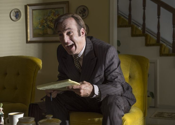 Bob Odenkirk as Jimmy McGill - Better Call Saul _ Season 1, Episode 5